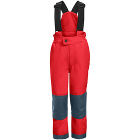 VAUDE Snow Cup III Pantalon Enfant, mars red